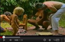 Видео роды женщины дома с мужем и детьми