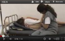 Видео родов дома в положении сидя